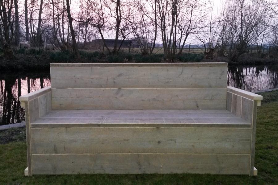 Afmetingen Tuinbank Steigerhout.Tuinbank Gebruikt Steigerhout Steigerhouten Meubelen Wood Sixteen